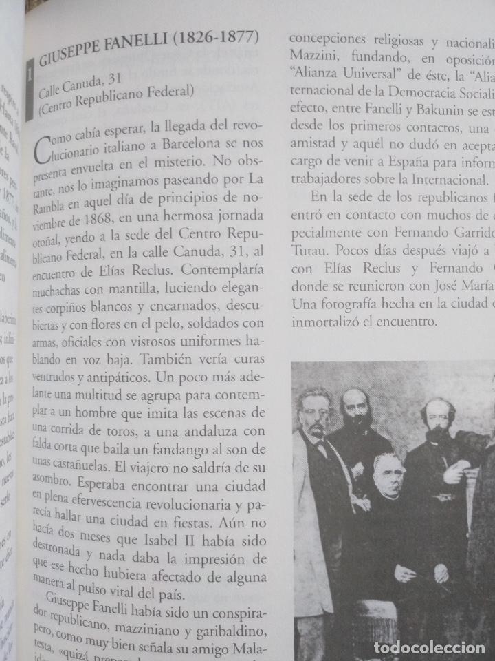 Libros de segunda mano: La Barcelona rebelde. Guía de la ciudad silenciada - Foto 4 - 222550883