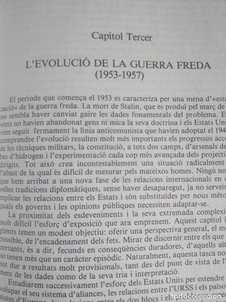 Libros de segunda mano: Història Universal Contemporània. J.B. Duroselle - Foto 3 - 222785500