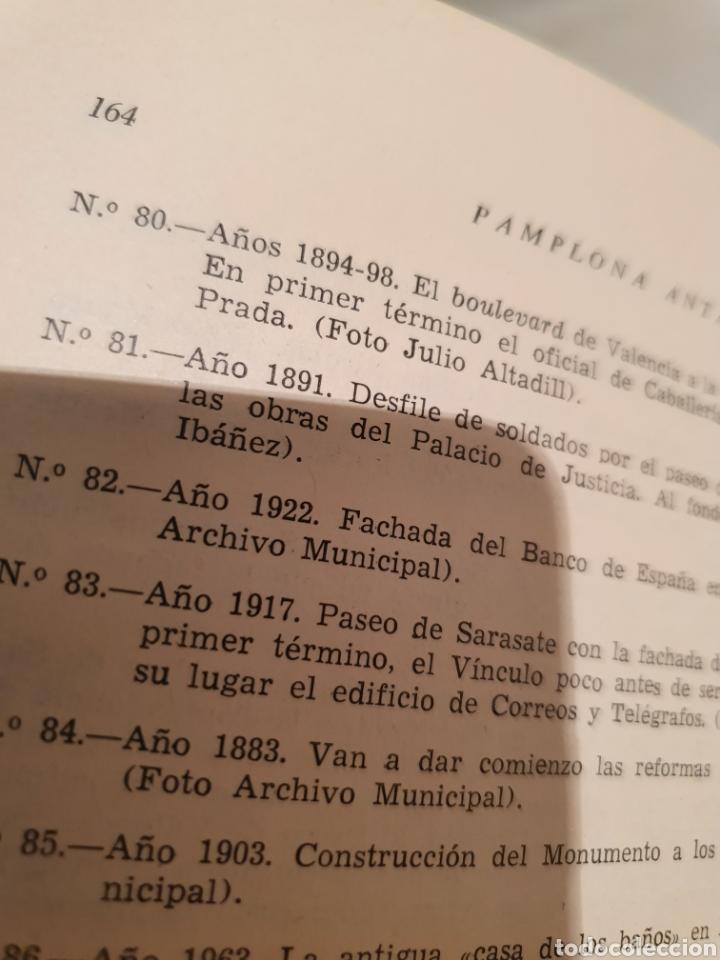 Libros de segunda mano: PAMPLONA ANTAÑO. JOSE JOAQUIN ARAZURI. 1963. - Foto 6 - 222839291
