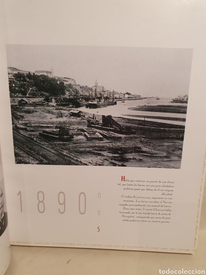 Libros de segunda mano: PUENTE VIZCAYA EN HISTORIA EN IMAGENES. 1889-1994. - Foto 2 - 222843410