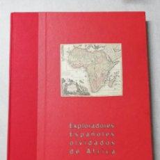 Libros de segunda mano: LIBRO EXPLORADORES ESPAÑOLES OLVIDADOS DE AFRICA. POR TERESA ZUBILLAGA Y OTROS. FUND. AIRTEL 2001.P. Lote 223139263