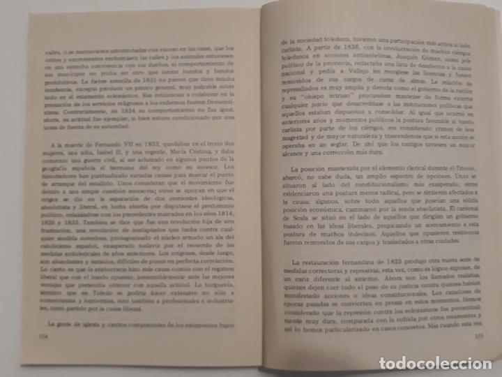 Libros de segunda mano: LUSTROS DE REPRESION Y REFORMA EN TOLEDO 1822 -1837 - HILARIO RODRIGUEZ DE GRACIA. - Foto 4 - 223318206