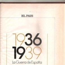Libros de segunda mano: 1503. LA GUERRA CIVIL DE ESPAÑA. EL PAIS / MALEFAKIS. Lote 198476967