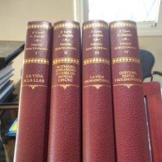 Libros de segunda mano: VISIONS BARCELONINES-COMPLETA 4 TOMOS-CURET Y LOLA ANGLADA 1981-83 1ª EDICION.-IMPECABLES. Lote 228305350