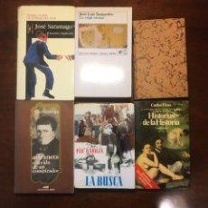 Libros de segunda mano: CLÁSICOS CONTEMPORÁNEOS, BAROJA, T. BALLESTER, SARAMARGO, J.L. SAMPEDRO, ETC. Lote 229735210