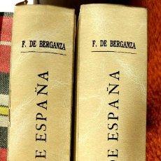 Libros de segunda mano: ANTIGUEDADES DE ESPAÑA - FRANCISCO DE BERGANZA (2 TOMOS). Lote 231062250
