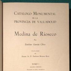 Libros de segunda mano: VALLADOLID. CATÁLOGO MONUMENTAL DE LA PROVINCIA, 3 TOMOS. 1960. Lote 231069200