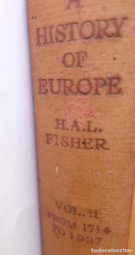 A HISTORY OF EUROPE 1714-1937 VOLUME II. FROM THE BEGINNING OF THE 18TH CENTURY TO 1937 (Libros de Segunda Mano - Historia Moderna)