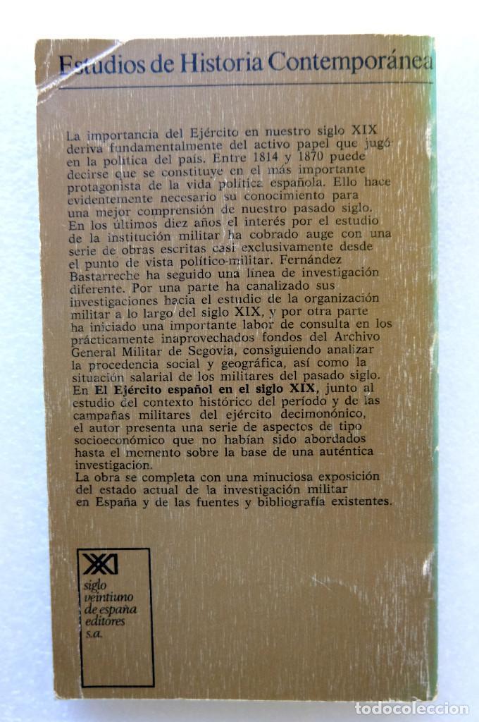 Libros de segunda mano: El ejército español en el siglo XIX - Foto 2 - 231800835