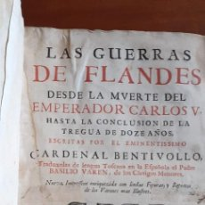Libros de segunda mano: HISTORIA DE LAS GUERRAS DE FLANDES AÑO 1687. Lote 207927030