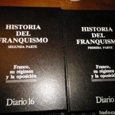 Libros de segunda mano: DOS TOMOS DE HISTORIA DEL FRANQUISMO.. Lote 234132385