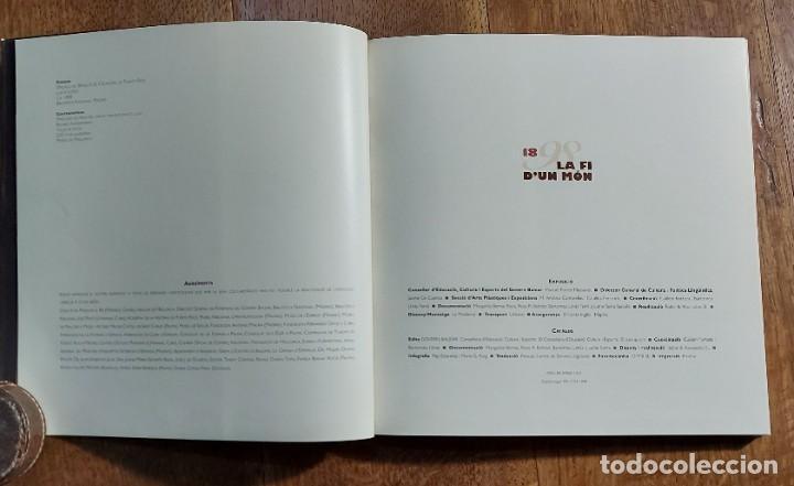 Libros de segunda mano: 1898.La fí dun mon. Cataleg .Edita Govern Balear. SA LLONJA. Palma de Mallorca 1998 - Foto 2 - 236891025
