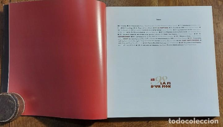 Libros de segunda mano: 1898.La fí dun mon. Cataleg .Edita Govern Balear. SA LLONJA. Palma de Mallorca 1998 - Foto 3 - 236891025