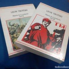 Libros de segunda mano: LOTE HISTORIA DE LA REVOLUCION RUSA TOMOS I Y II. Lote 237689195