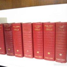 Libros de segunda mano: JULIO VERNE OBRAS COMPLETAS, 7 TOMOS, PLAZA Y JANÉS ( TAMBIÉN SUELTOS ). Lote 239595105