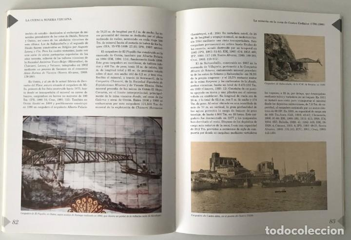 Libros de segunda mano: LA CUENCA MINERA VIZCAINA. HISTORIA DE LA MINERÍA EN VIZCAYA. VASCO - Foto 2 - 241296185