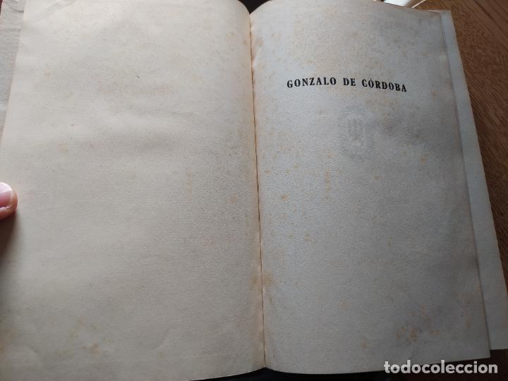 Libros de segunda mano: Gonzalo de Cordoba, Luis Maria de Lojendio, ed. Espasa, 1942. Buen estado. - Foto 9 - 241860795