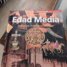 Libros de segunda mano: LA EDAD MEDIA. SOBERANOS, CABALLEROS Y CLÉRIGOS. Lote 242182765