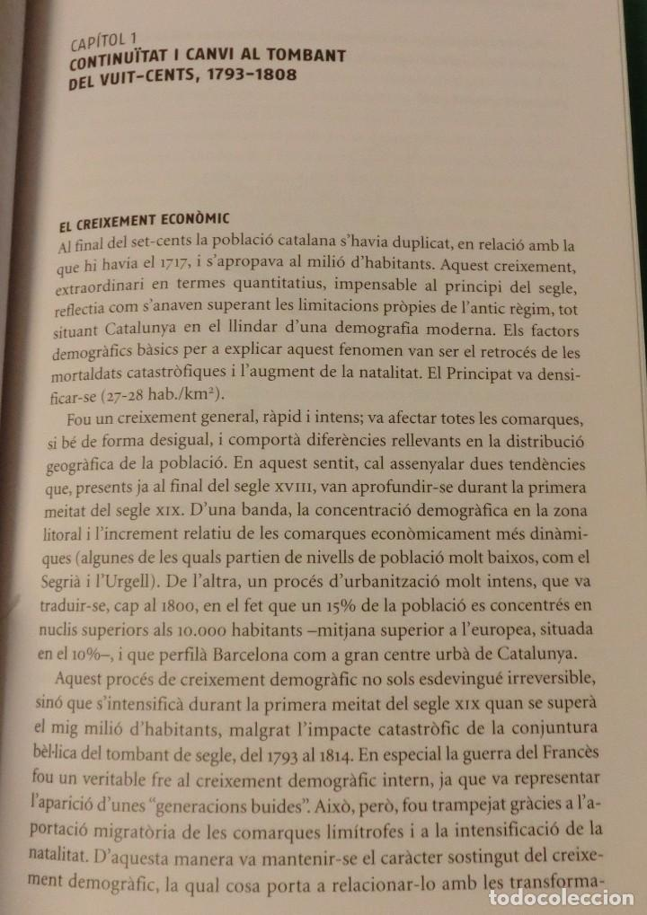 Libros de segunda mano: HISTÓRIA DE LA CATALUNYA CONTEMPORANIA.DE LA GUERRA DEL FRANÇÉS AL NOU ESTATUT(NOU)[DESCATALOGAT] - Foto 7 - 243764150