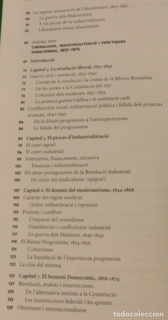Libros de segunda mano: HISTÓRIA DE LA CATALUNYA CONTEMPORANIA.DE LA GUERRA DEL FRANÇÉS AL NOU ESTATUT(NOU)[DESCATALOGAT] - Foto 12 - 243764150