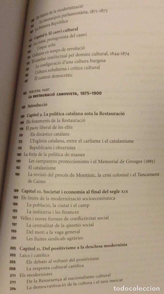 Libros de segunda mano: HISTÓRIA DE LA CATALUNYA CONTEMPORANIA.DE LA GUERRA DEL FRANÇÉS AL NOU ESTATUT(NOU)[DESCATALOGAT] - Foto 13 - 243764150