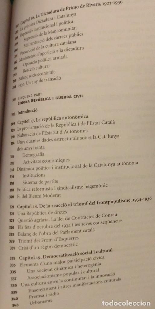 Libros de segunda mano: HISTÓRIA DE LA CATALUNYA CONTEMPORANIA.DE LA GUERRA DEL FRANÇÉS AL NOU ESTATUT(NOU)[DESCATALOGAT] - Foto 15 - 243764150