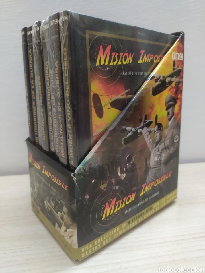 Libros de segunda mano: Colección completa Misión Imposible BBC 8 LIBROS + 8 DVD. Nunca usados - Foto 2 - 244503405