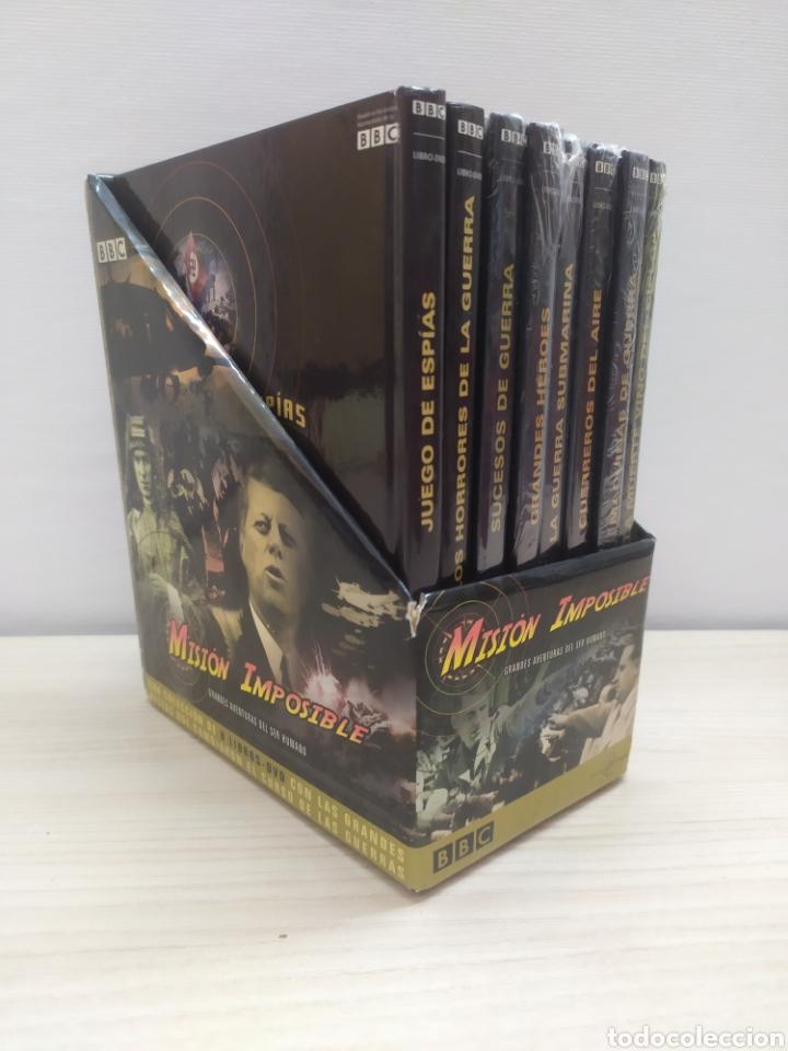 COLECCIÓN COMPLETA MISIÓN IMPOSIBLE BBC 8 LIBROS + 8 DVD. NUNCA USADOS (Libros de Segunda Mano - Historia Moderna)