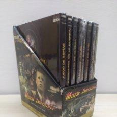 Libros de segunda mano: COLECCIÓN COMPLETA MISIÓN IMPOSIBLE BBC 8 LIBROS + 8 DVD. NUNCA USADOS. Lote 244503405