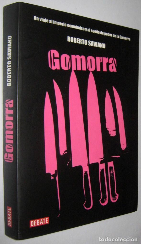 GOMORRA - ROBERTO SAVIANO (Libros de Segunda Mano - Historia Moderna)