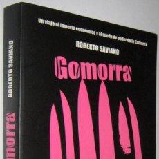 Libros de segunda mano: GOMORRA - ROBERTO SAVIANO. Lote 245073030