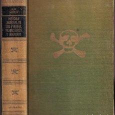 Livros em segunda mão: HISTORIA MUNDIAL DE LOS PIRATAS, FILIBUSTEROS Y NEGREROS - MERRIEN - ED. CARALT 1970. Lote 245203845