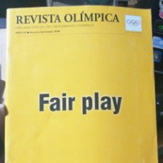 Libros de segunda mano: FAIR PLAY. REVISTA OLIMPIC XXVI-22 ASG SEPT O 1998 INFOLIO RUSTICA ILUSTRADA 59 PP. PUBLICIDAD. Lote 245289065