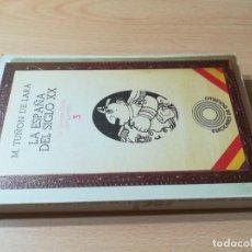 Libros de segunda mano: LA ESPAÑA DEL SIGLO XX / M TUÑON DE LARA / 3 LA GUERRA CIVIL 1936 - 1939 / AE 207. Lote 245293540