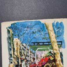 Libros de segunda mano: BARCELONA PER CAMILO JOSÉ CELA. IL·LUSTRACIONS DE FEDERIC LLOVERAS. PRIMERA EDICIÓ.. Lote 247477150