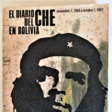 Libros de segunda mano: EL DIARIO DEL CHE GUEVARA EN BOLIVIA,AÑO 1968,GUERRILLA MILITAR CON PLANO DE LOS COMBATES.RARO.CUBA. Lote 248206675