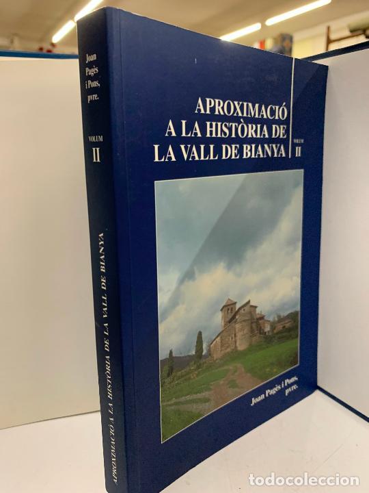 Libros de segunda mano: Aproximacio a la historia de la Vall de Bianya, Tomo II, Joan Pagès Pons. Impecable - Foto 2 - 248703570