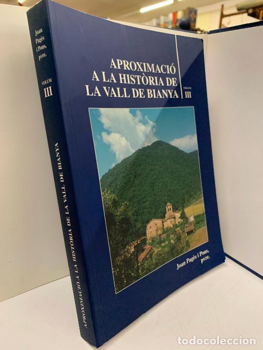 Libros de segunda mano: Aproximacio a la historia de la Vall de Bianya, Tomo III, Joan Pagès Pons. Impecable - Foto 2 - 248703740
