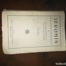 Libros de segunda mano: LIBRO JEROMÍN, ESTUDIOS HISTÓRICOS SOBRE EL SIGLO XVI. Lote 251243660