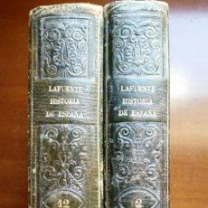 Libros de segunda mano: HISTORIA GENERAL DE ESPAÑA MODESTO LAFUENTE TOMOS 2 Y 12. Lote 254820405