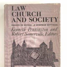 Libros de segunda mano: LAW, CHURCH AND SOCIETY: ESSAYS IN HONOR OF STEPHAN KUTTNER, UNIVERSITY OF PENNSYLVANIA PRESS, 1977. Lote 255436935