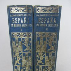 Libros de segunda mano: ESPAÑA, UN ENIGMA HISTÓRICO - CLAUDIO SÁNCHEZ ALBORNOZ 1962. Lote 260092305