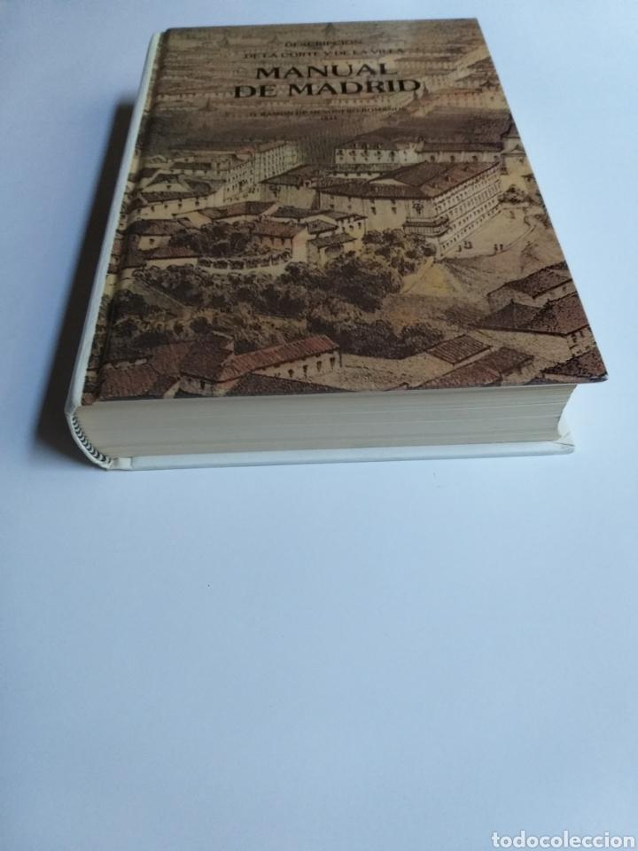 Libros de segunda mano: Manual de Madrid descripción de la corte y de la villa Mesonero Romanos. 1990 . .. historia arte XIX - Foto 2 - 261611610