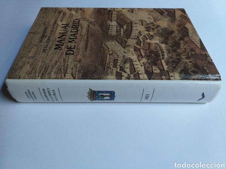 Libros de segunda mano: Manual de Madrid descripción de la corte y de la villa Mesonero Romanos. 1990 . .. historia arte XIX - Foto 3 - 261611610