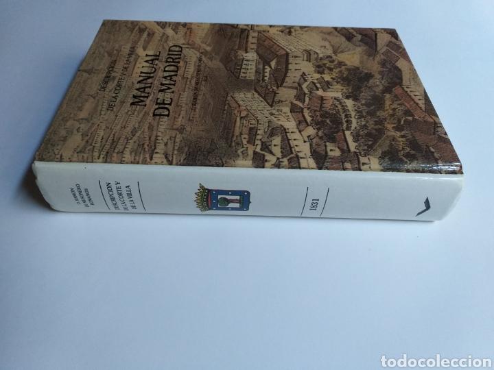 Libros de segunda mano: Manual de Madrid descripción de la corte y de la villa Mesonero Romanos. 1990 . .. historia arte XIX - Foto 8 - 261611610