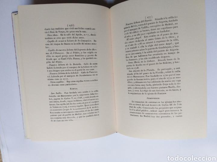 Libros de segunda mano: Manual de Madrid descripción de la corte y de la villa Mesonero Romanos. 1990 . .. historia arte XIX - Foto 12 - 261611610