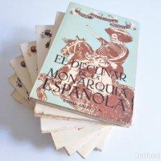 Livros em segunda mão: SERIE COMPLETA DE 7 VOLÚMENES LA ESPAÑA DE FELIPE IV DE JOSÉ DELEITO Y PIÑUELA, ESPASA-CALPE AÑOS 60. Lote 261661485