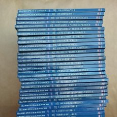 Libros de segunda mano: GRANDES ÉPOCAS DE LA AVIACIÓN. 40 VOLÚMENES. TODOS LOS LIBROS DE LA COLECCIÓN.. Lote 262022860