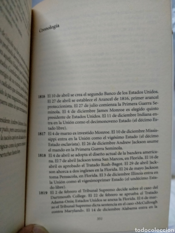 Libros de segunda mano: ISAAC ASIMOV. LOS ESTADOS UNIDOS DESDE 1816 HASTA LA GUERRA CIVIL. ALIANZA EDITORIAL - Foto 3 - 262821915