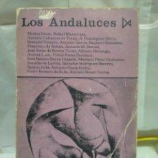 Libros de segunda mano: VARIOS AUTORES. LOS ANDALUCES .EDICIONES ISTMO. Lote 263193445